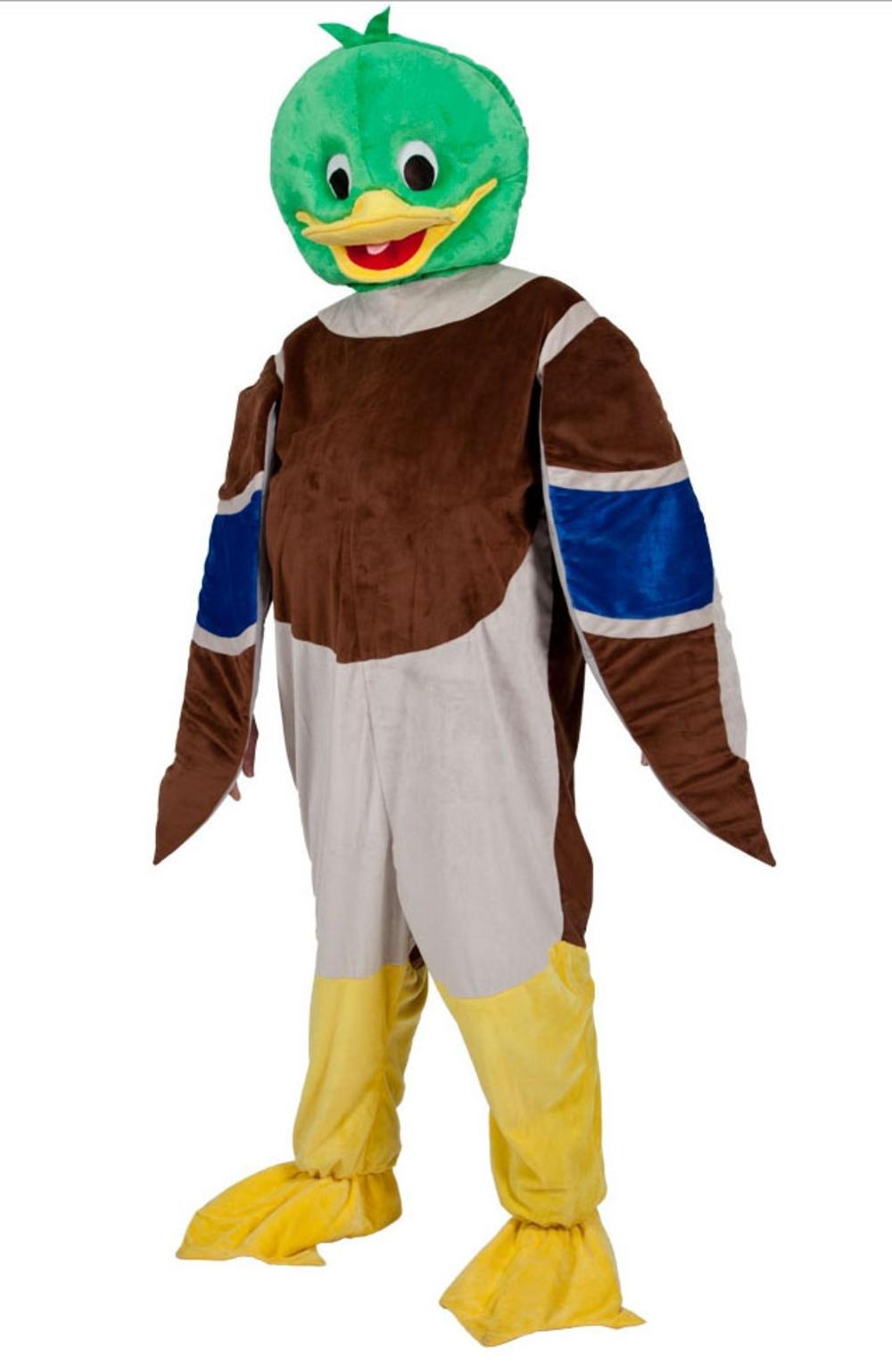 Mallard Duck Mascot Costume Letter Quot D Quot Costumes Mega Fancy Dress