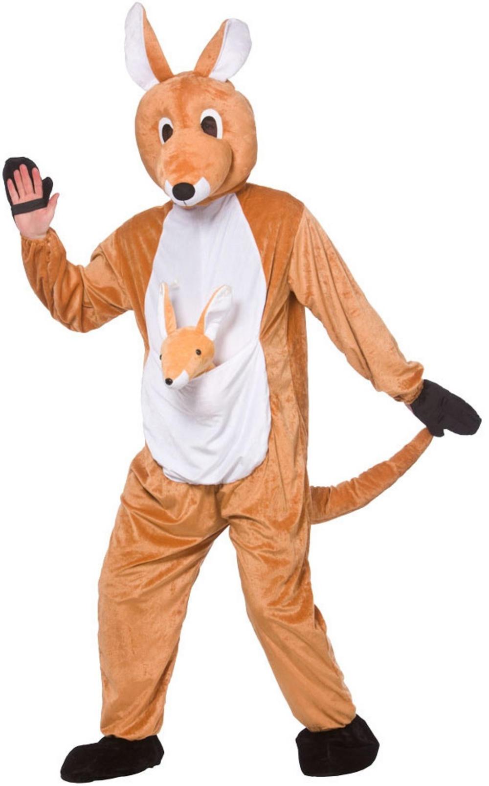 Kangaroo Mascot Costume