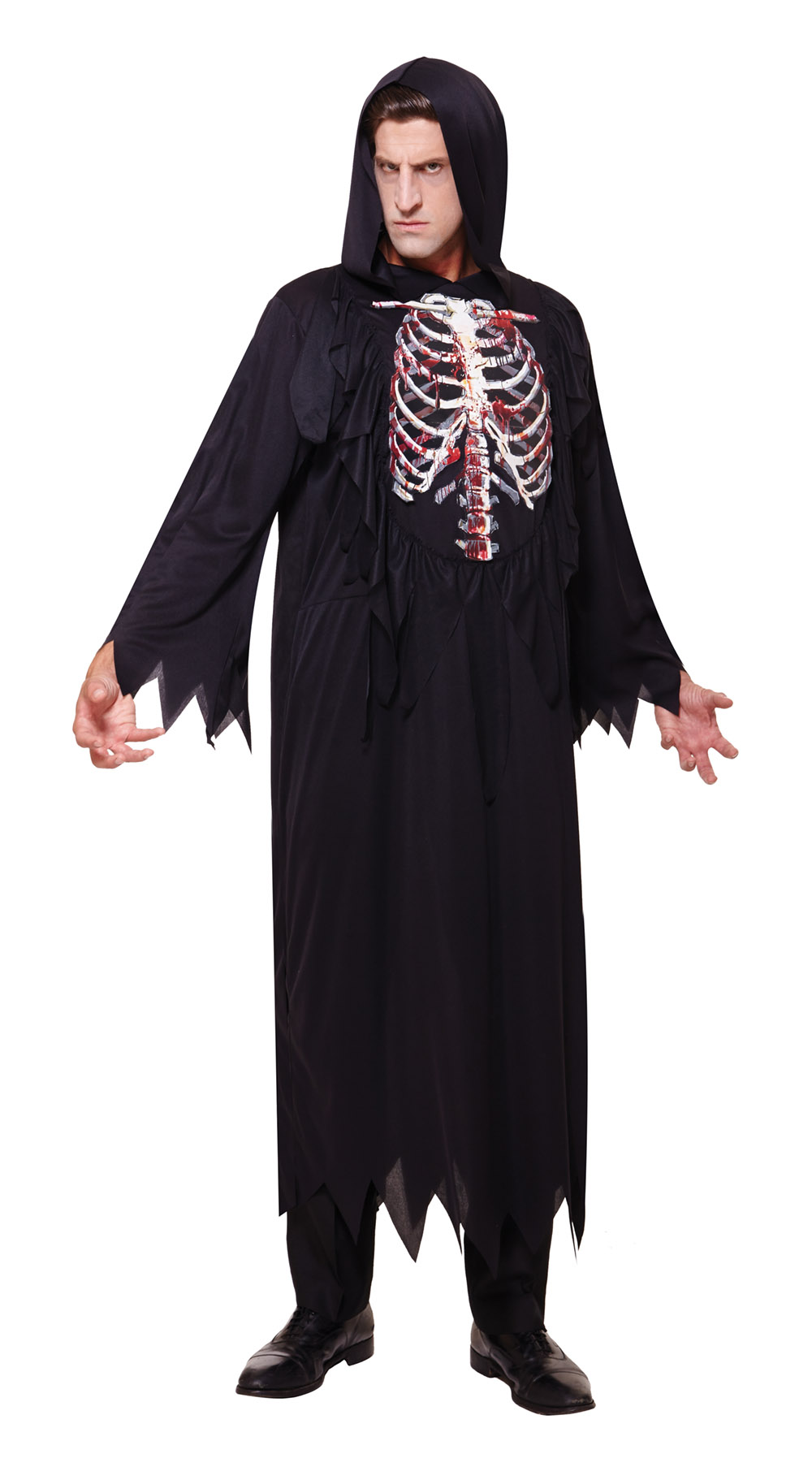 Mens Skeleton Halloween Costume