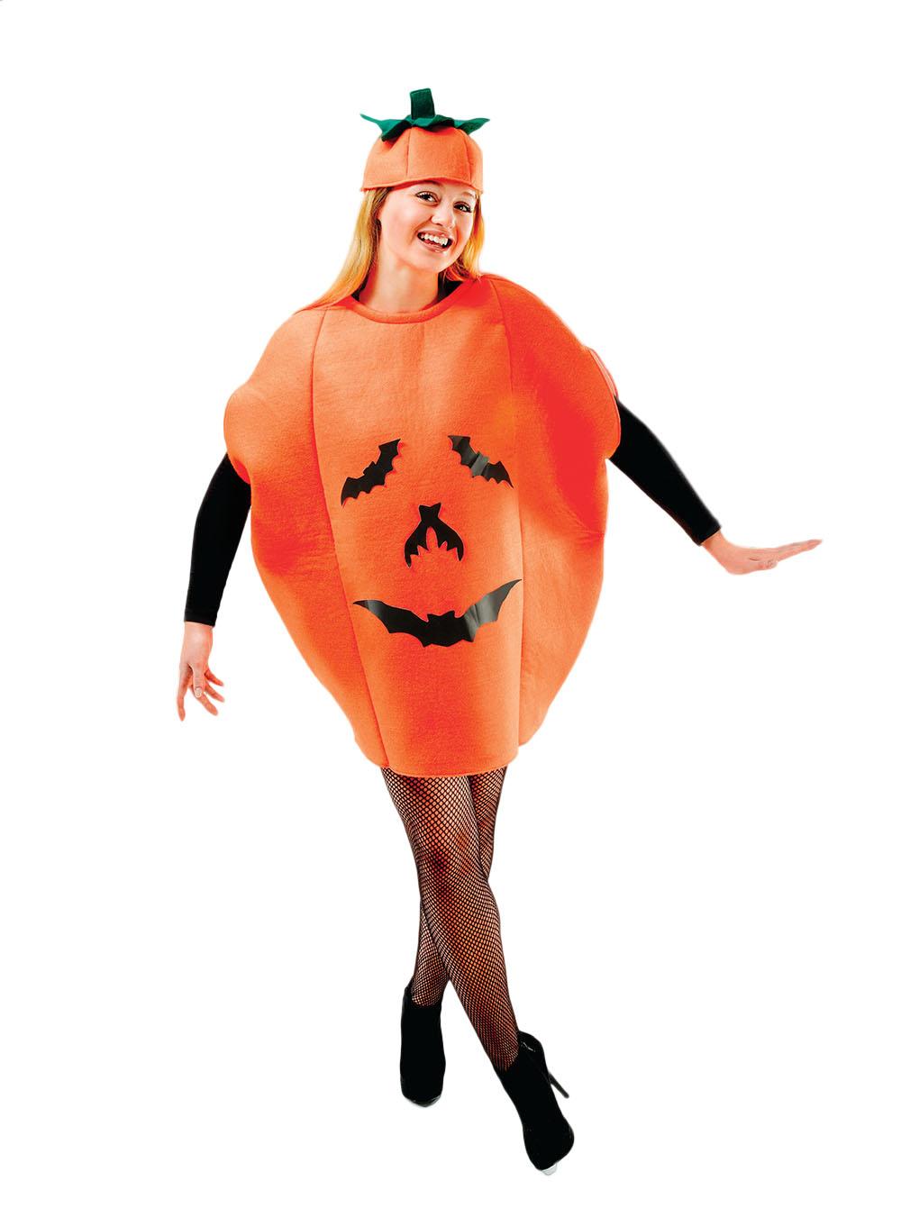 pumpkin adults costume