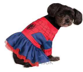 Spider Girl Pet Dog Costume