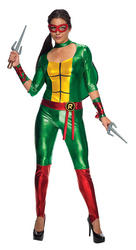 Raphael Ladies TMNT Superhero Costume