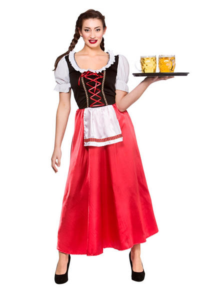 Bavarian Beer Wench Costume