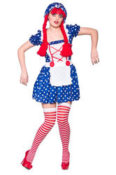 Cute Rag Doll Costume