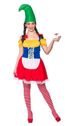 Cute Gnome Ladies Costume