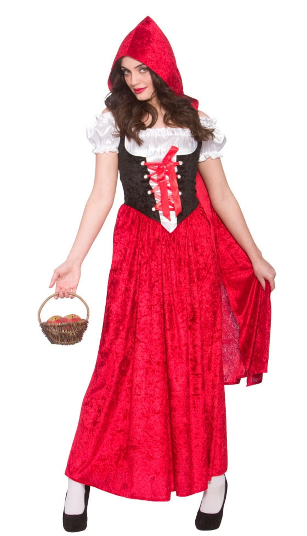 Deluxe Little Red Riding Hood Ladies Costume