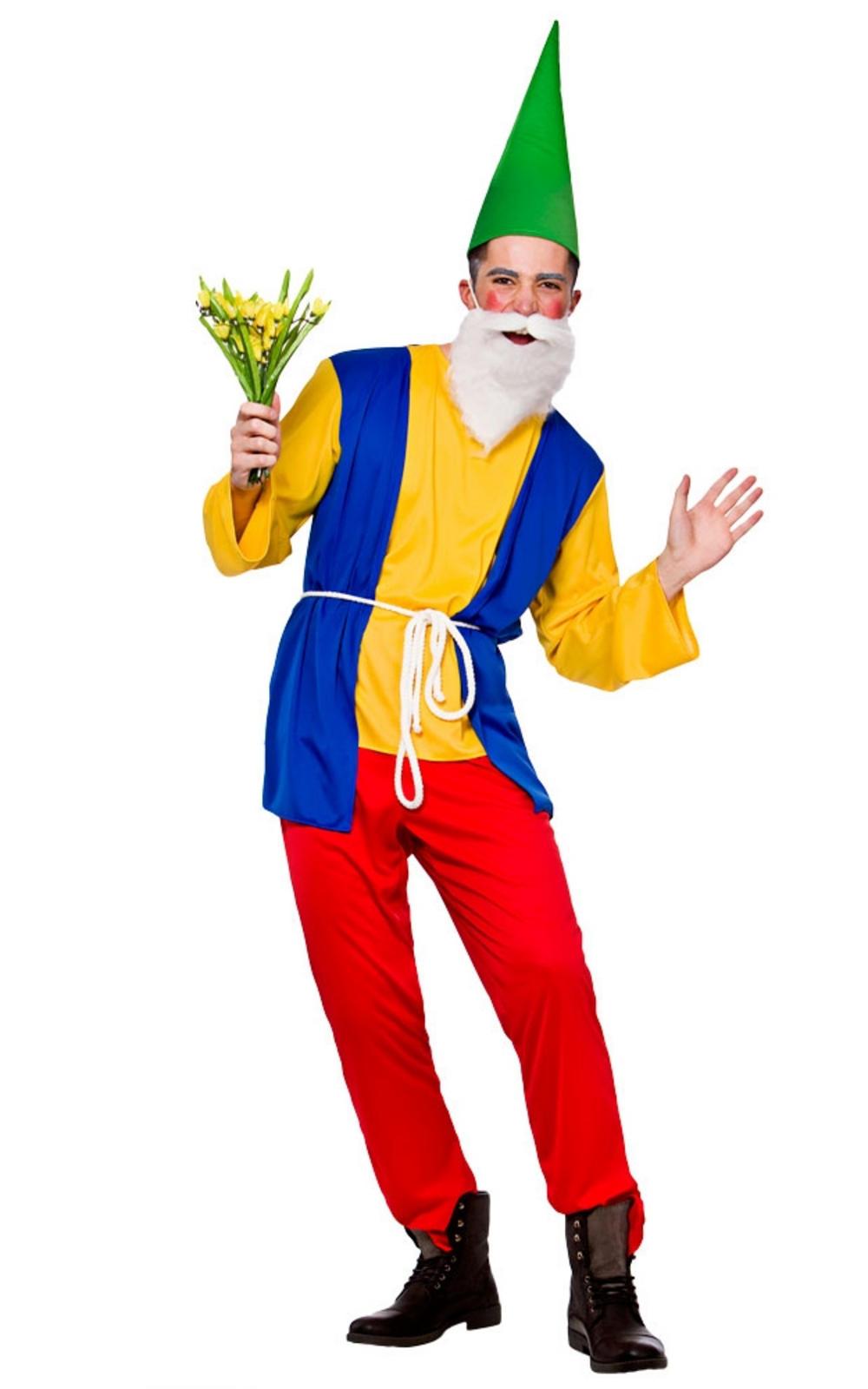 Funny Gnome Mens Costume