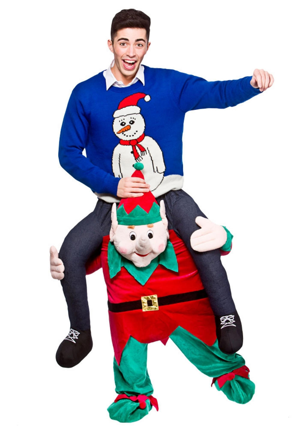 Carry Me Xmas Elf Costume