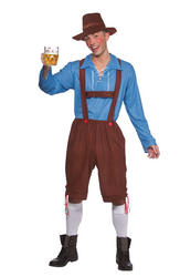 Bavarian Party Guy Adults Costume
