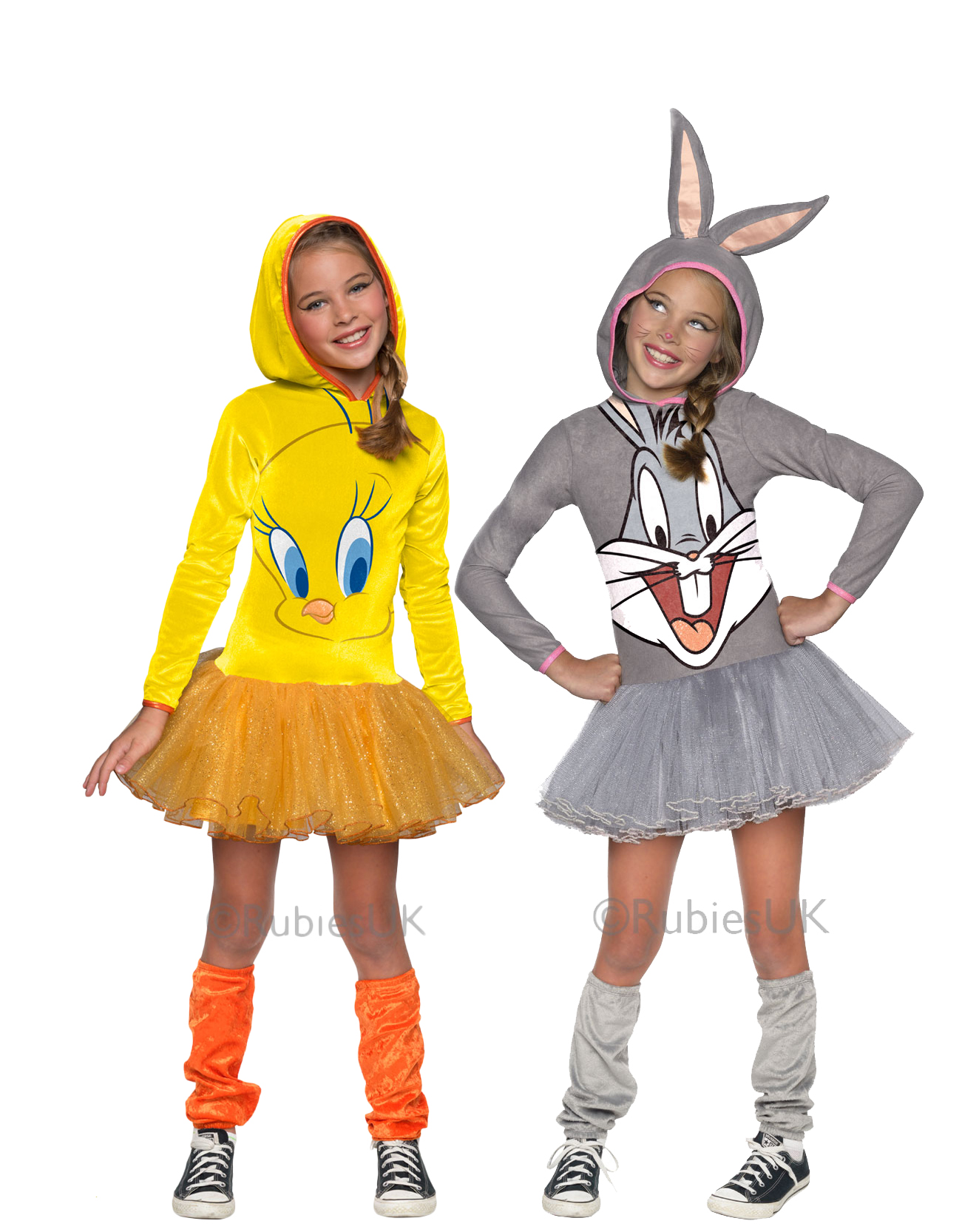 Cartoon Characters Outfits : Cartoon character girls fancy dress looney tunes kids