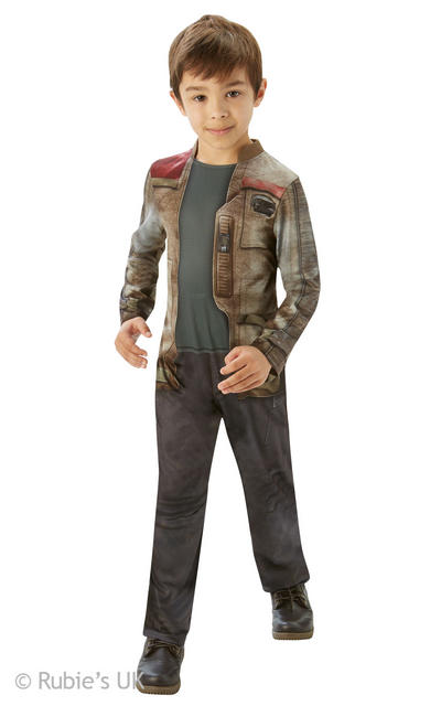 Finn Classic Boys The Force Awakens Star Wars Costume