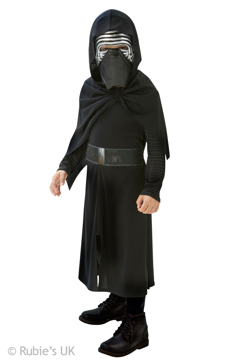 Kylo Ren Classic Boys The Force Awakens Star Wars Costume  sc 1 st  Mega Fancy Dress & Kylo Ren Classic Boys The Force Awakens Star Wars Costume | Star ...