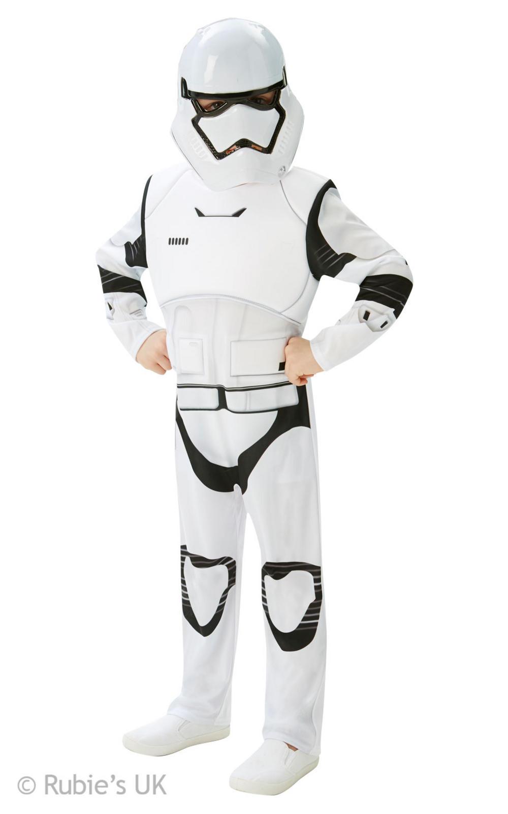 Deluxe Stormtrooper Boys The Force Awakens Star Wars Costume