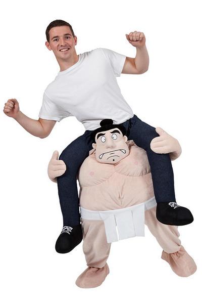 Carry Me Sumo Wrestler Costume