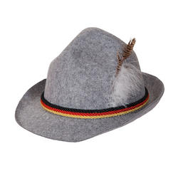 Grey Oktoberfest Hat