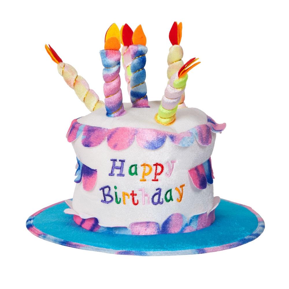 deluxe birthday cake hat