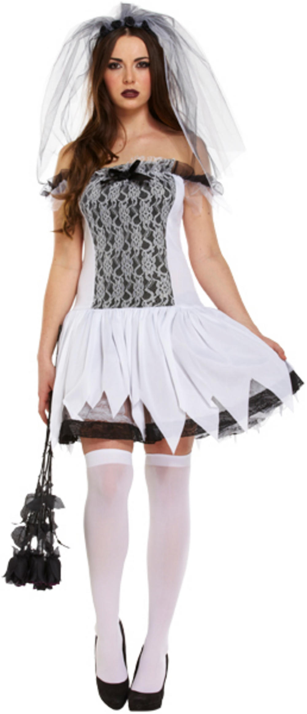 Undead Teen Bride Ladies Costume  All Ladies Halloween -5197