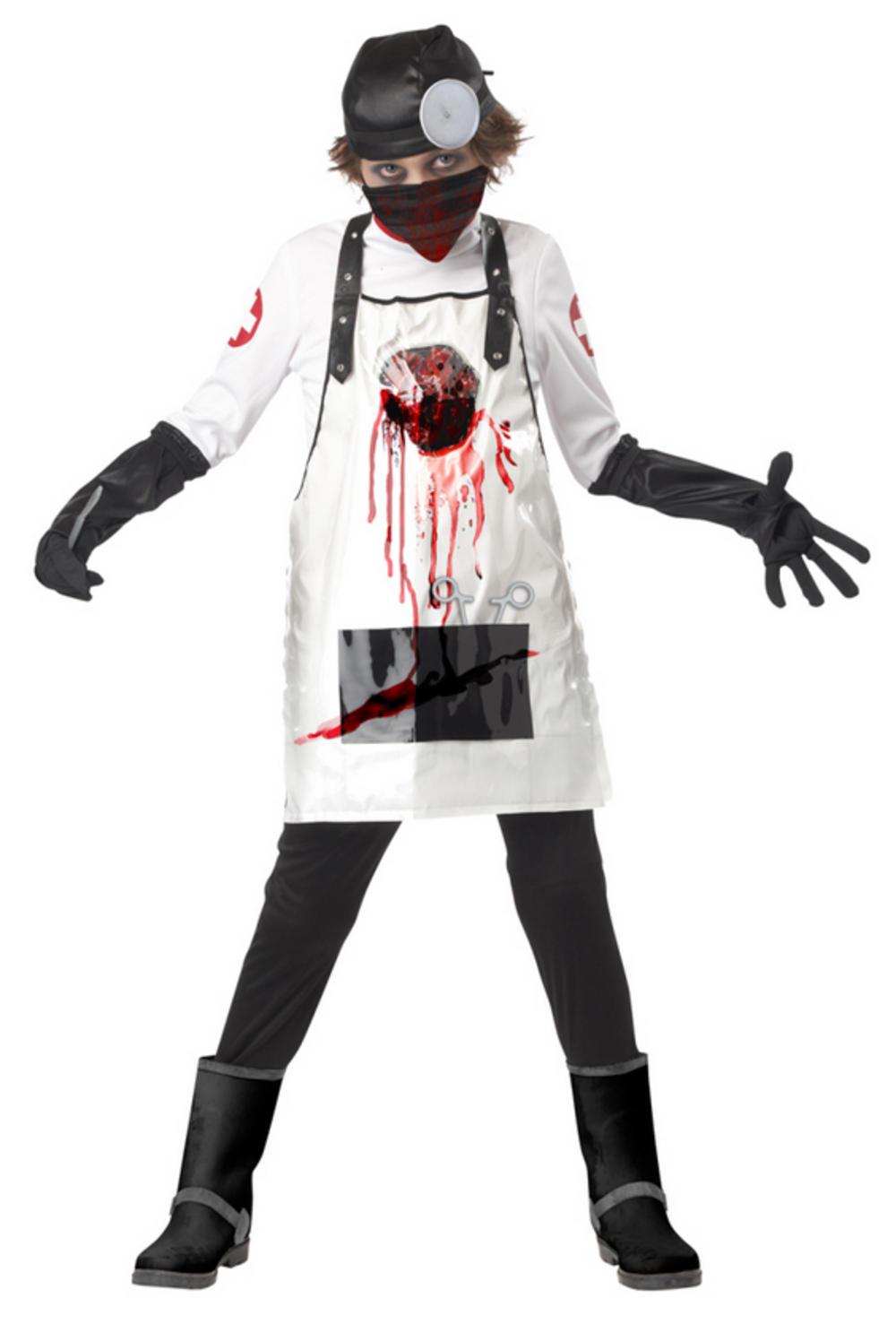 Open Heart Surgeon Boys Costume