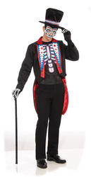 Day of the Dead Long Tail Suit Costume