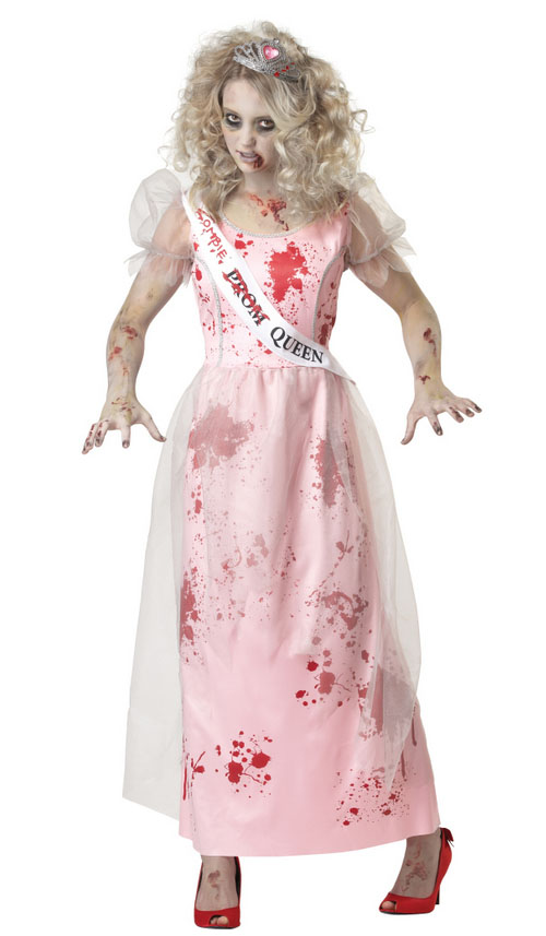 Prom Queen Zombie Adults Costume | All Ladies Costumes | Mega Fancy ...