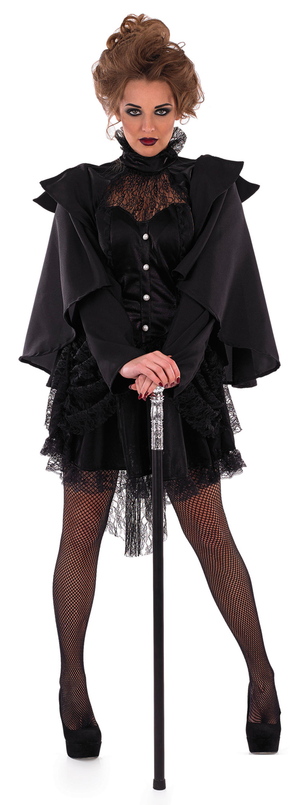 Victorian Black Widow Costume