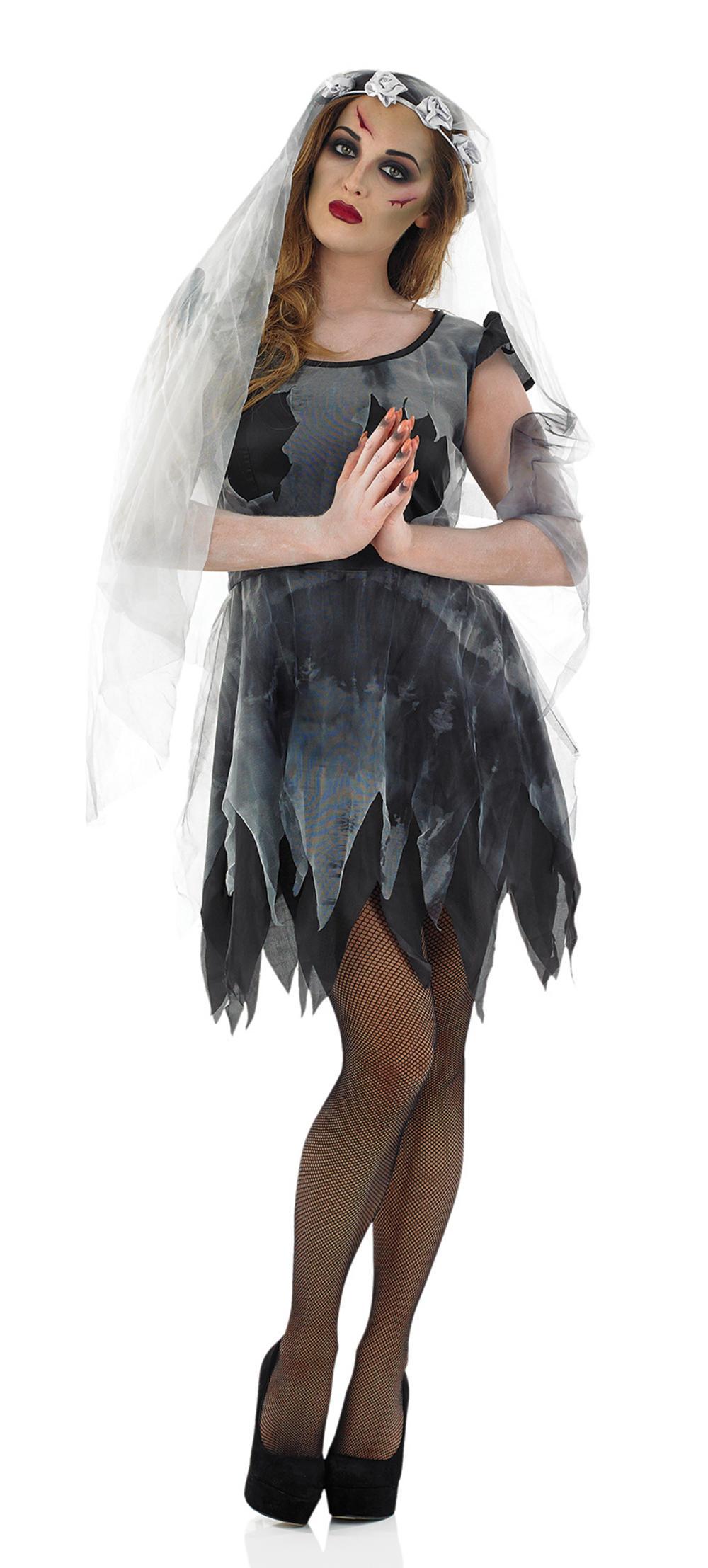Black Corpse Ghost Bride Costume