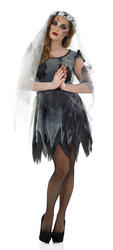Black Corpse Ghost Bride Costume