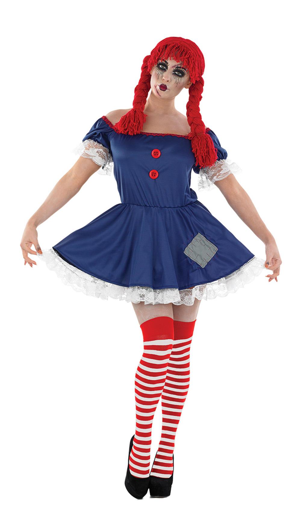 Rag Doll Ladies Costume