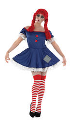 Rag Doll Ladies Costume