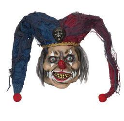 Deranged Jester Horror Mask