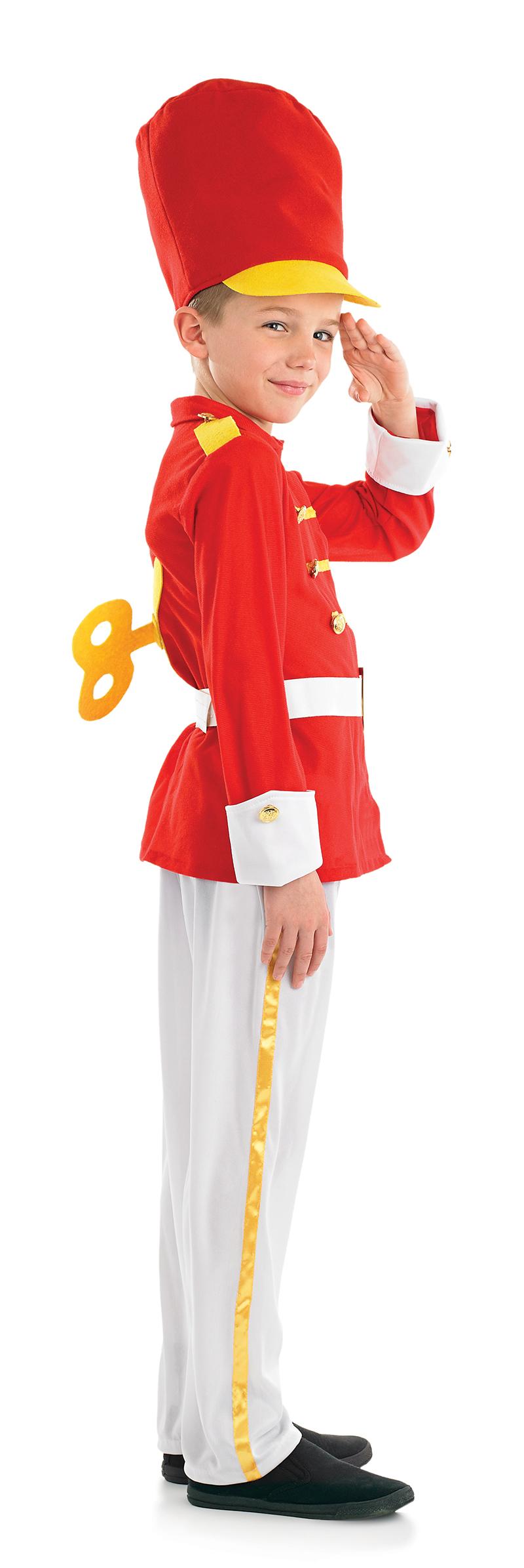 Tin soldier boys fancy dress nutcracker christmas uniform kids sentinel tin soldier boys fancy dress nutcracker christmas uniform kids childs costume solutioingenieria Images