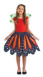 Red Woodland Fairy Costume
