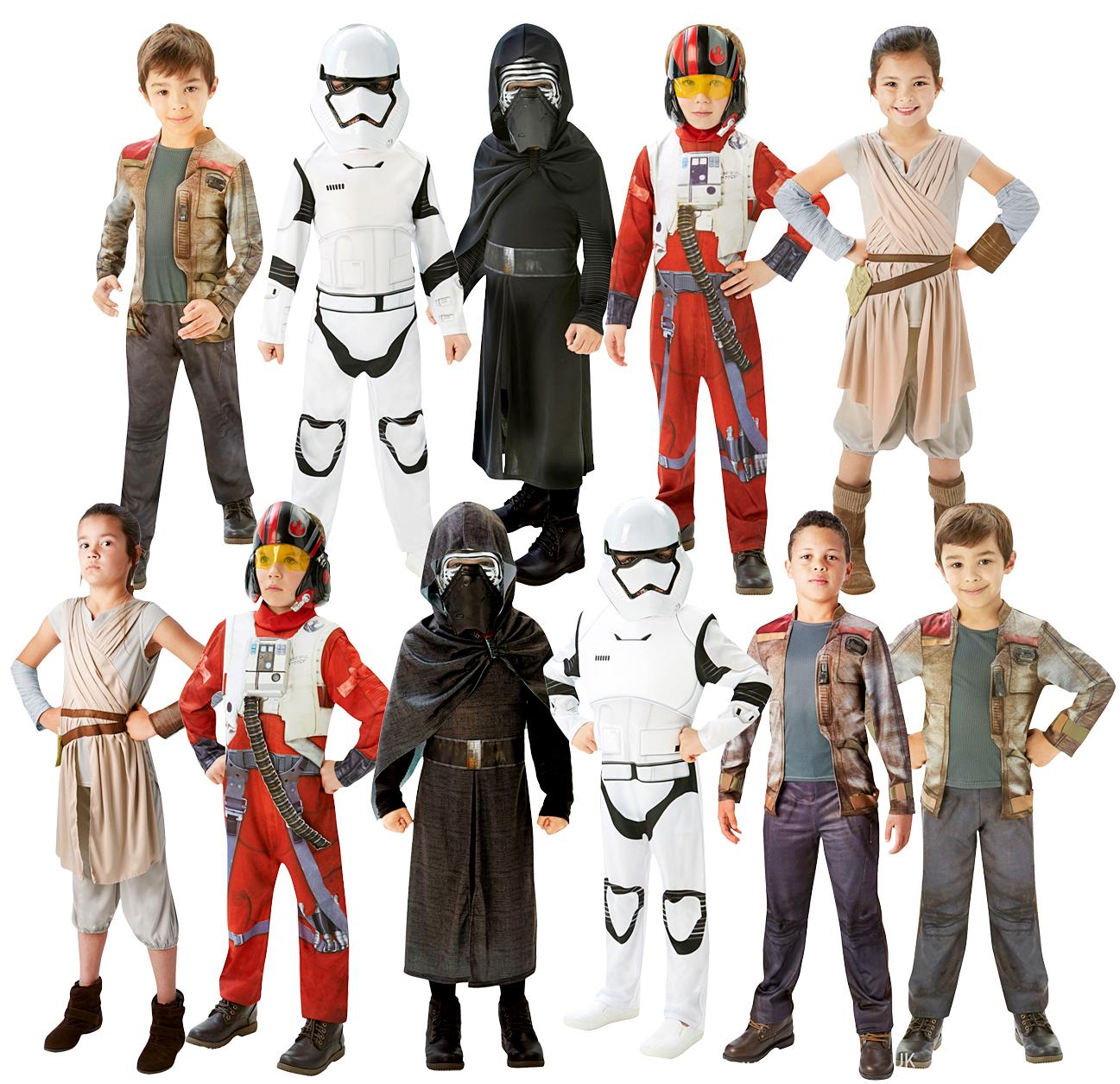 Chewbacca Boys Fancy Dress Star Wars Movie Film Childrens Kids Costume Outfit