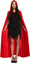 Red Devil Cape Adults Costume