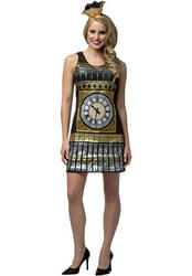 Big Ben Clock Ladies Costume