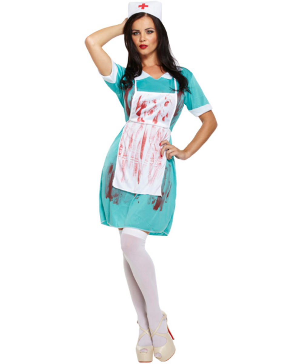 Bloody Zombie Nurse Costume
