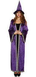 Purple Sorceress Ladies Costume