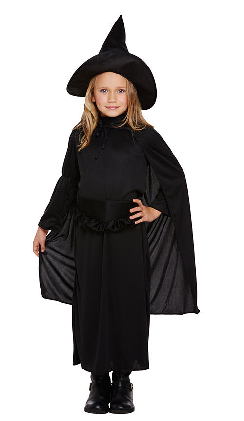 Classic Witch Girls Costume