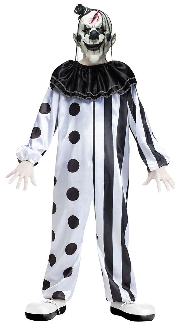 sentinel scary clowns boys fancy dress halloween horror joker circus kids childs costumes