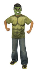 Hulk Boys T-Shirt Boys Costume Kit