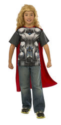 Thor Boys T-Shirt Boys Costume Kit