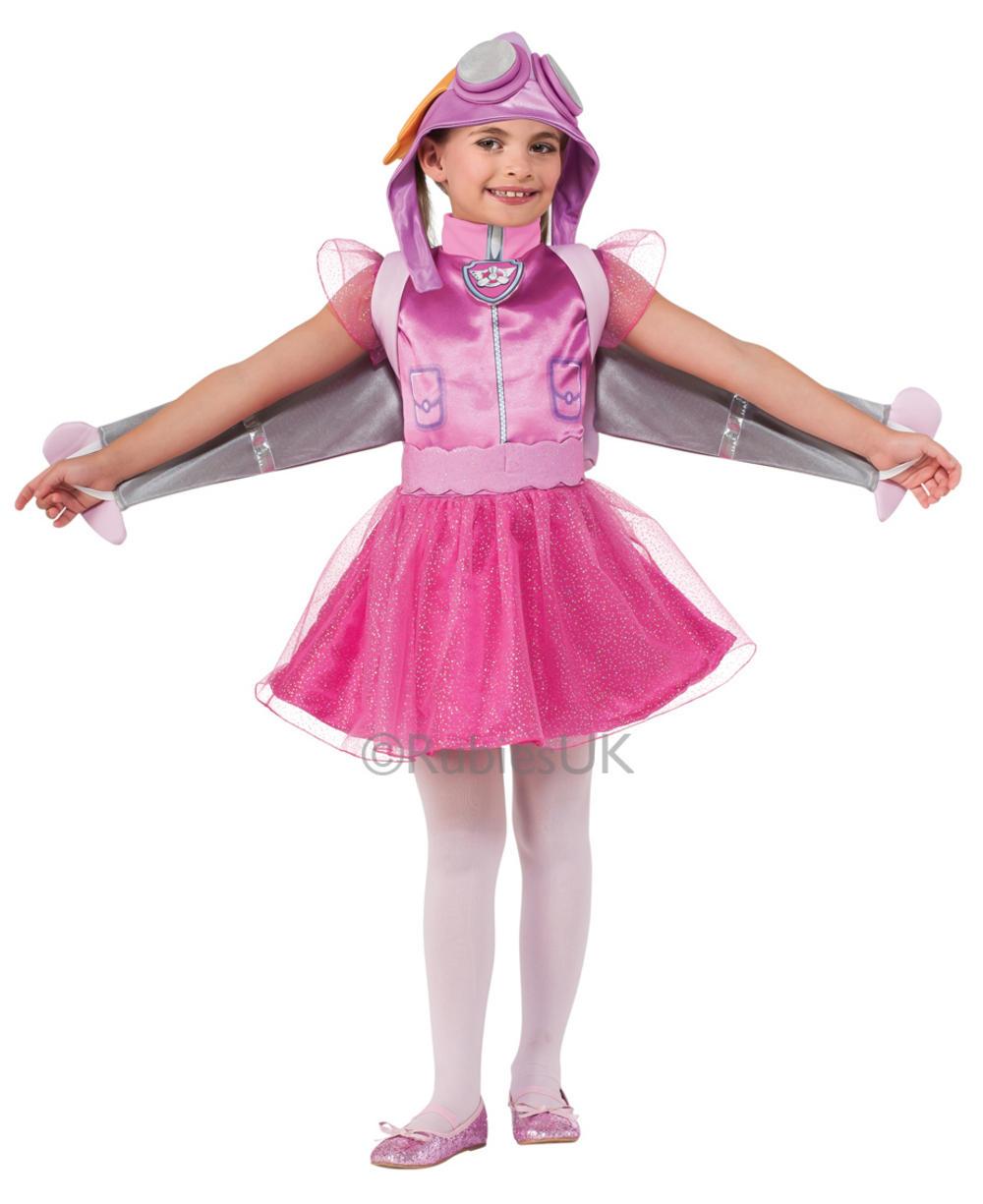 Paw Patrol Skye Girls Fancy Dress Costume