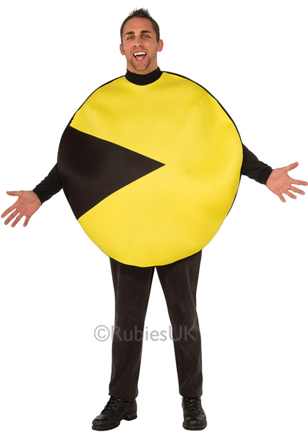 Pac-Man Mens Costume