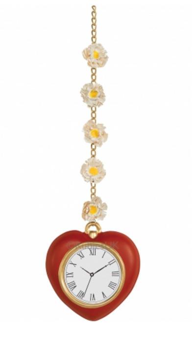 Tin Man Heart Clock Accessory