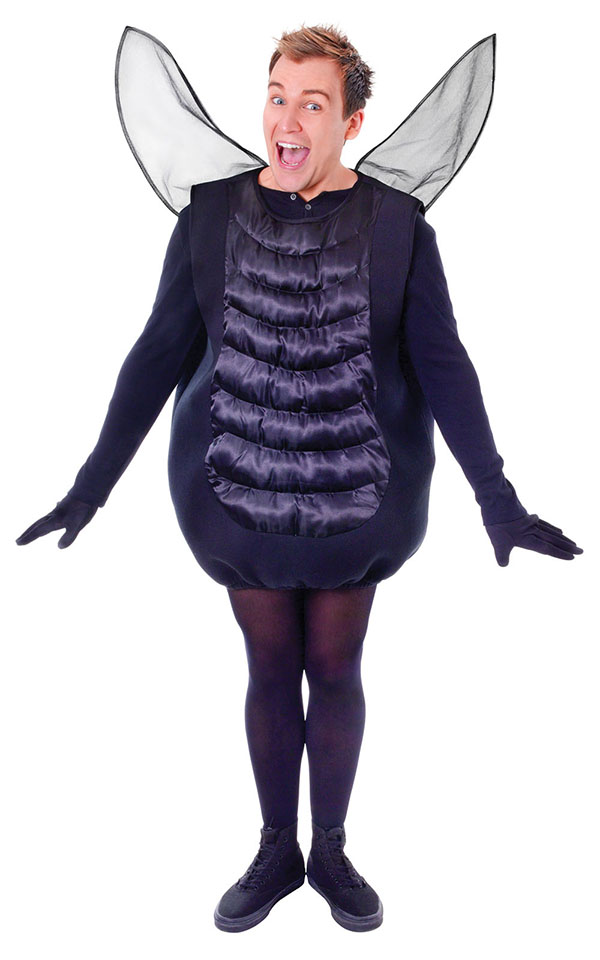 Sentinel Black Fly Adults Fancy Dress Halloween Bug Insect Animal Mens  Ladies Costume New. Black Fly Adults Fancy Dress Halloween Bug Insect Animal Mens