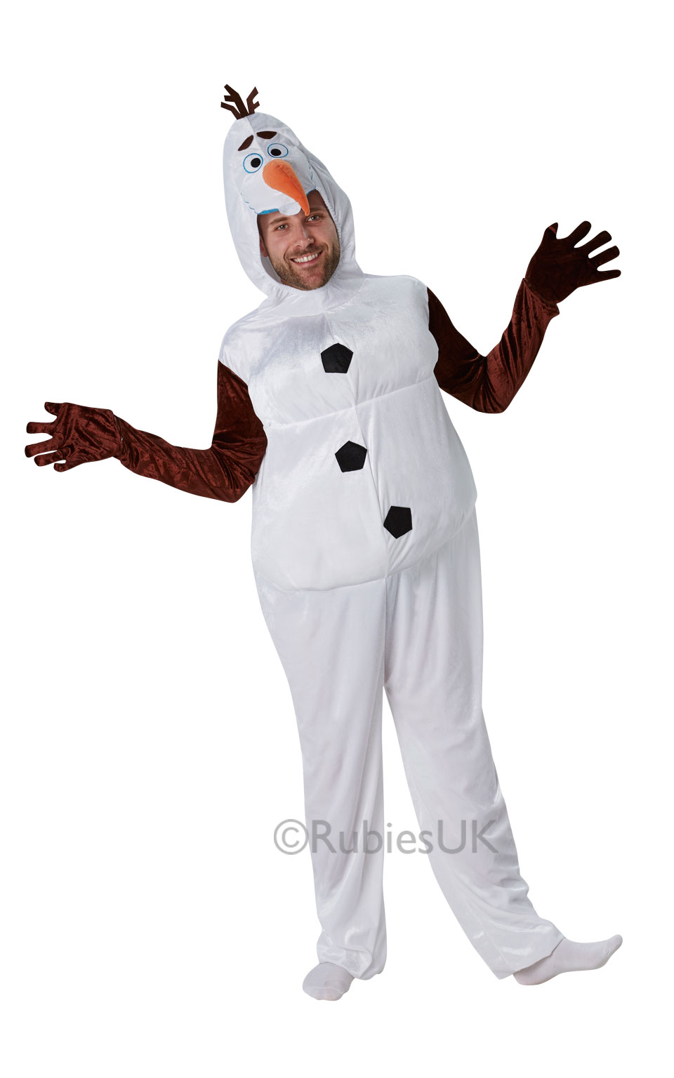 Sentinel Adults Disney Frozen Fancy Dress Mens Womens Princess Fairytale  Olaf Costume New Sc 1 St EBay