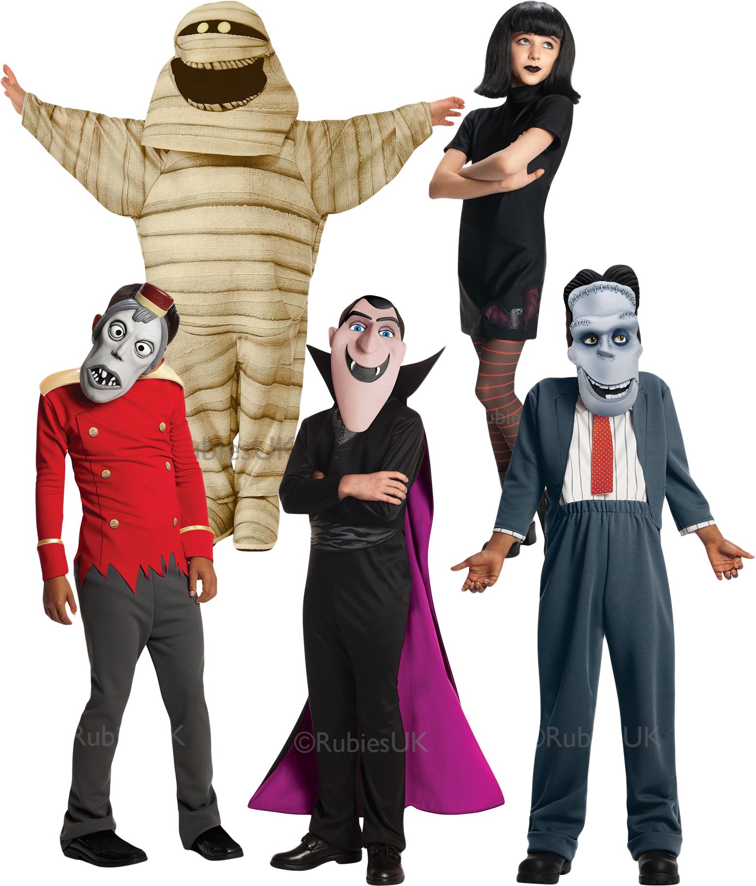 Sentinel Hotel Transylvania 2 Fancy Dress Halloween V&ire Monsters Childrens Costumes  sc 1 st  eBay & Hotel Transylvania 2 Fancy Dress Halloween Vampire Monsters ...