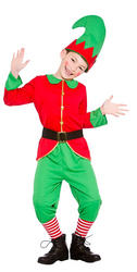 Workshop Elf Boys Costume
