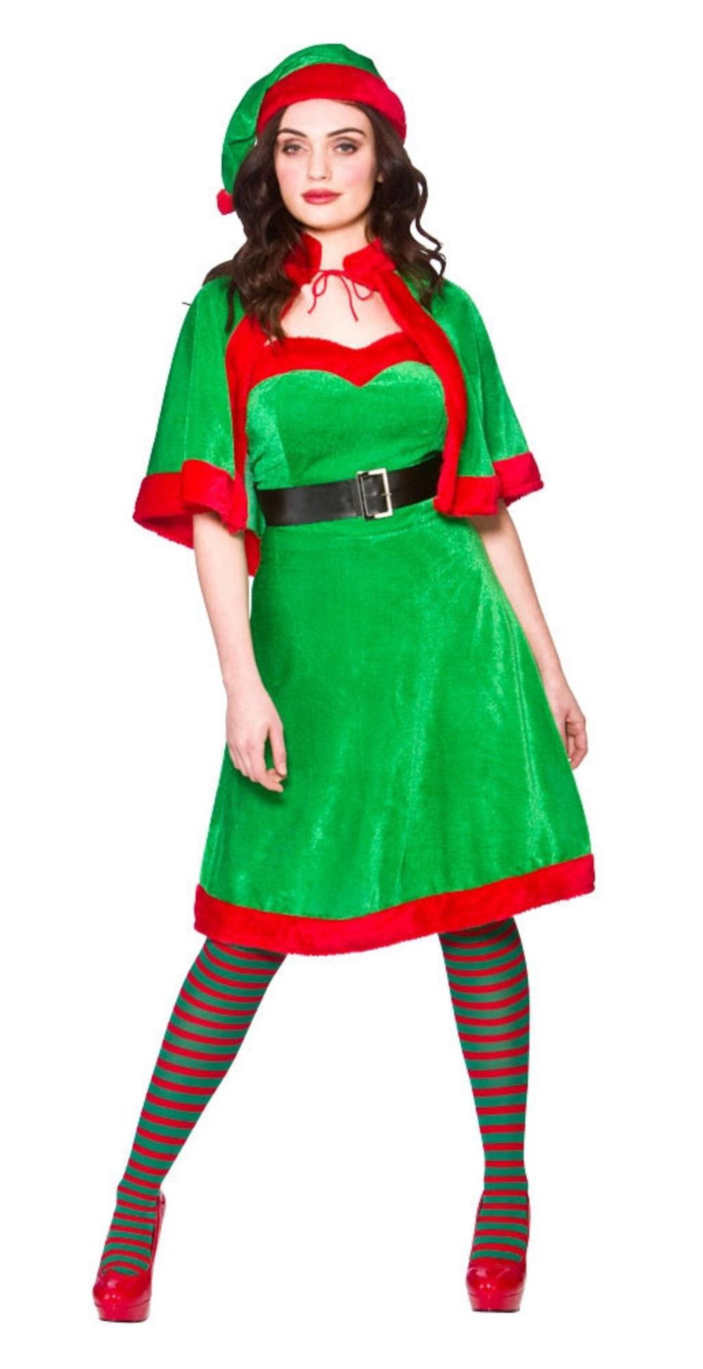Cute Elf Ladies Costume