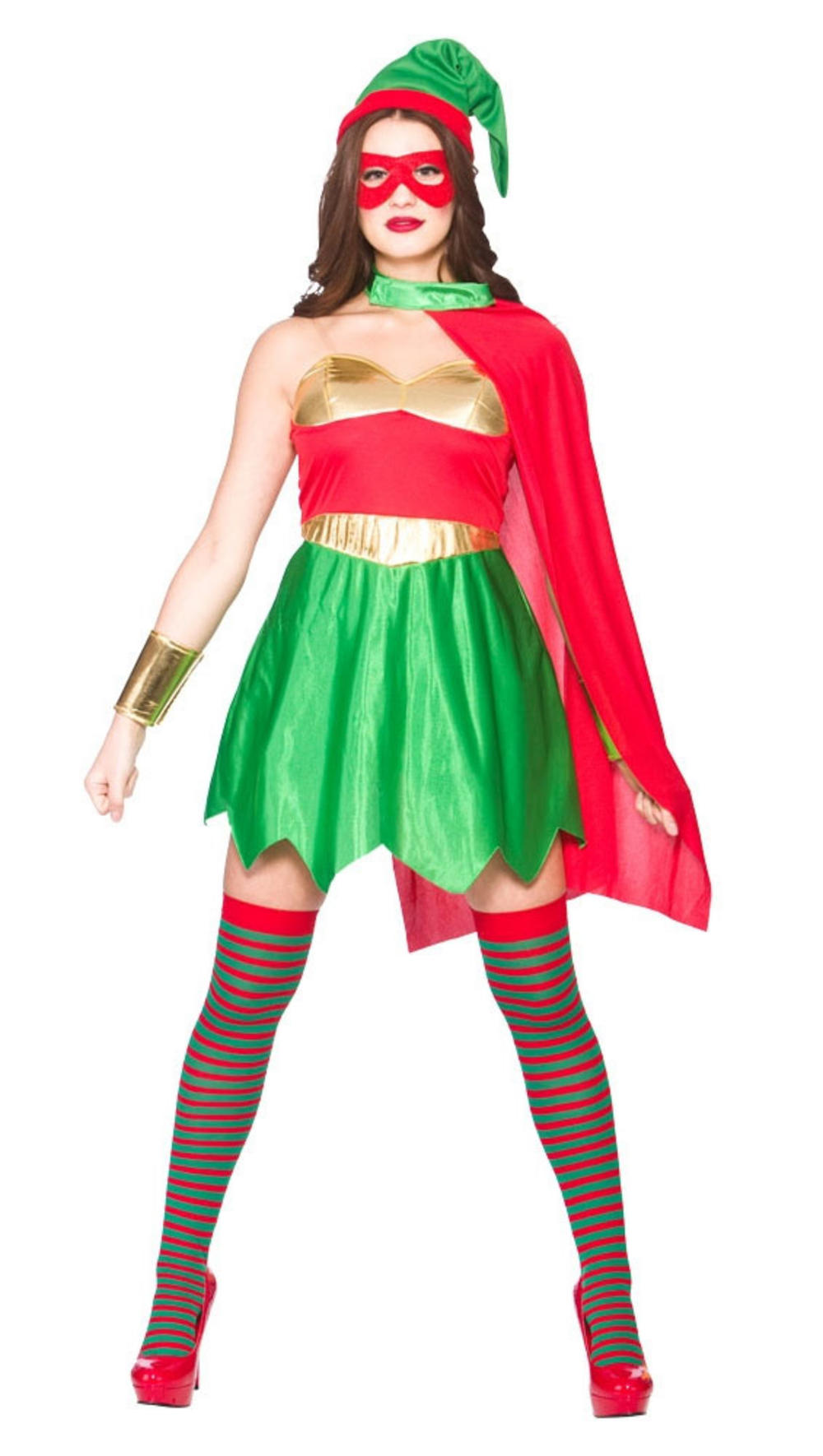 Elf Superhero Ladies Costume